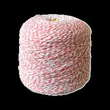 Шпагат для колбас хб бело-красный Бухта 2 кг